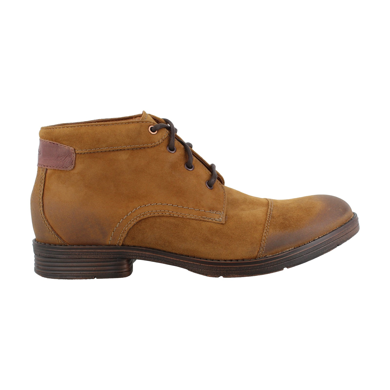 Men's Clarks, Devington Cap Lace up Boots