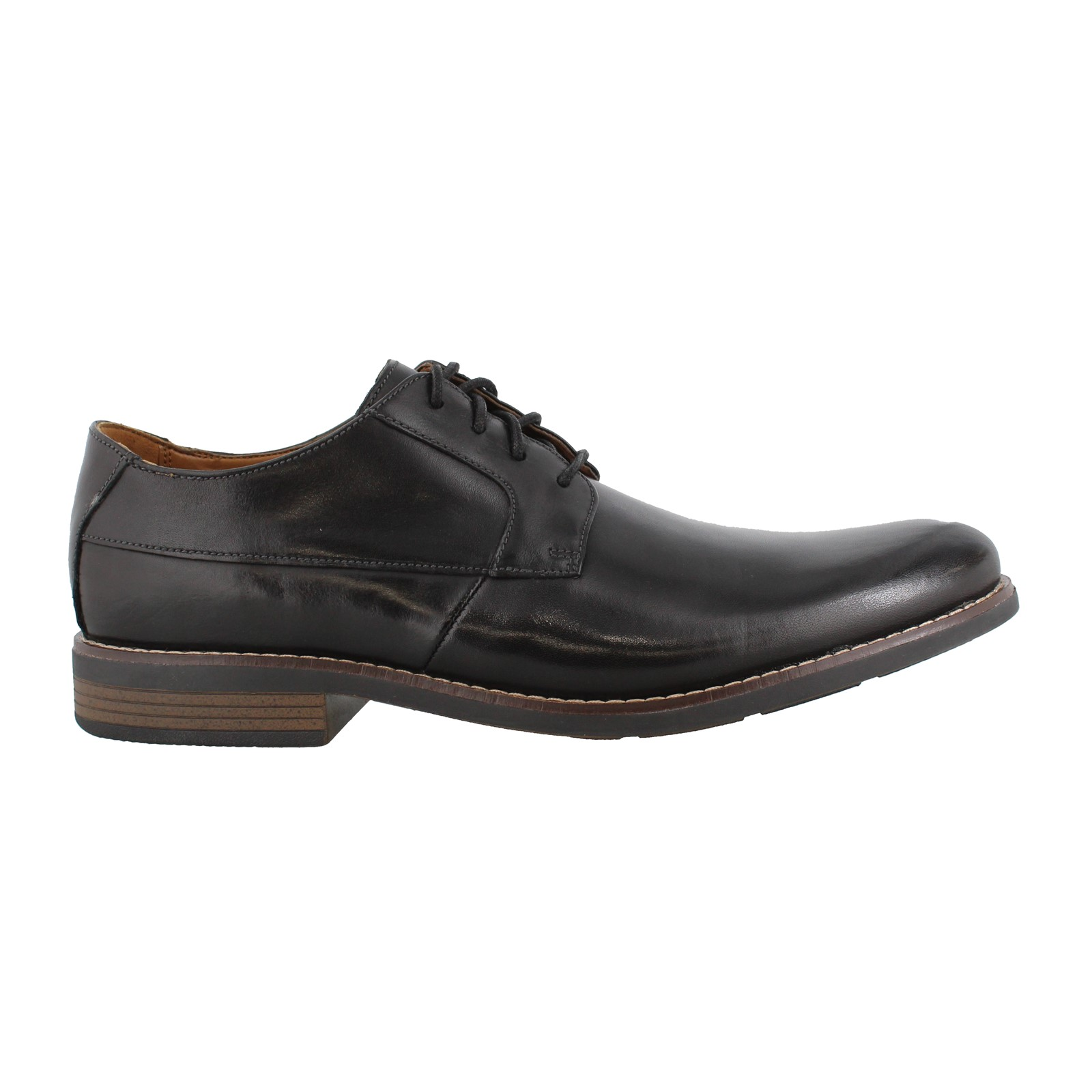 Men's Clarks, Becken Plain Toe Oxford