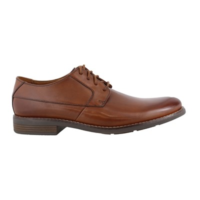 Men's Clarks, Becken Plain Lace up Oxford Shoes