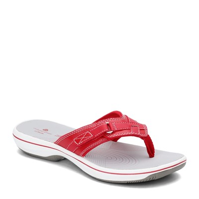 Women's Clarks, Breeze Sea sporty Thong Sandals