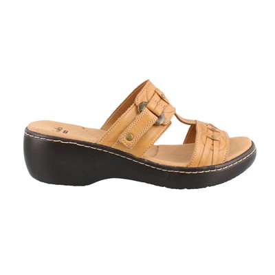 Women's Clarks, Delana Macrae Slide Sandals