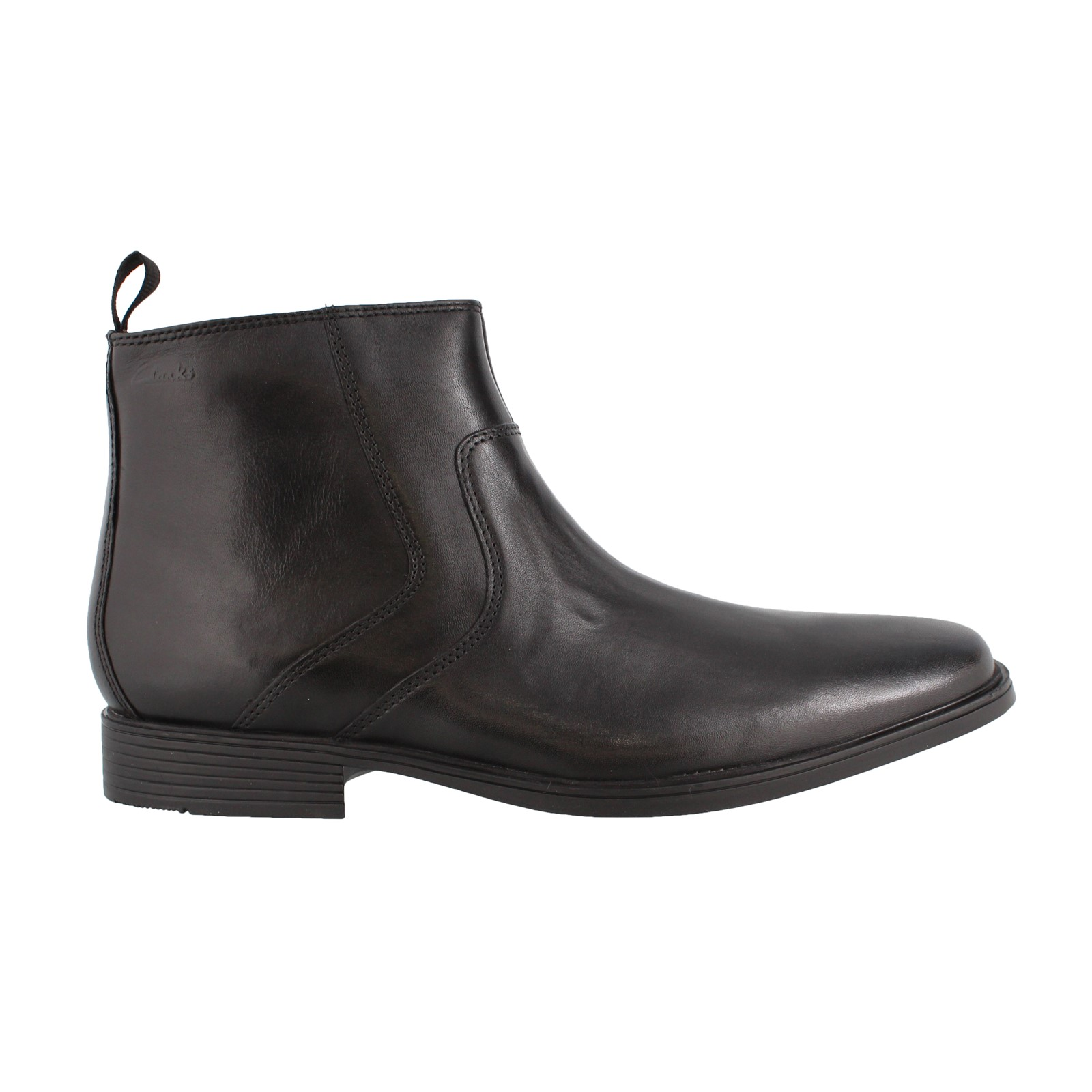 Men's Clarks, Tilden Zip Ankle Boot