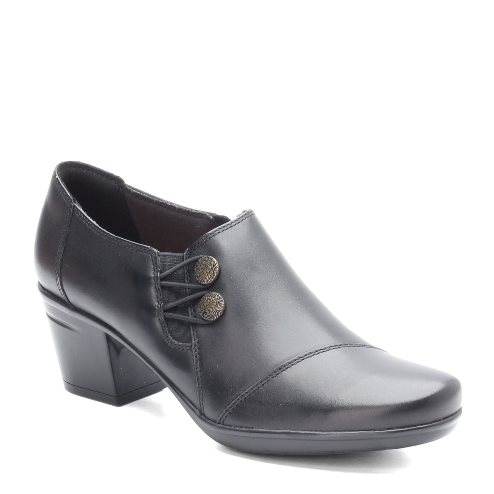 Women's Clarks, Emslie Warren Mid Heel Shooties