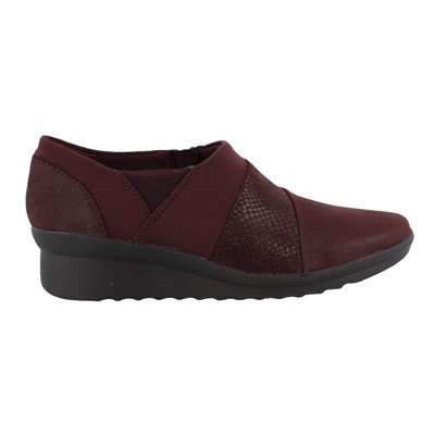 Women's Clarks, Caddell Denali Low Heel Wedge Pumps