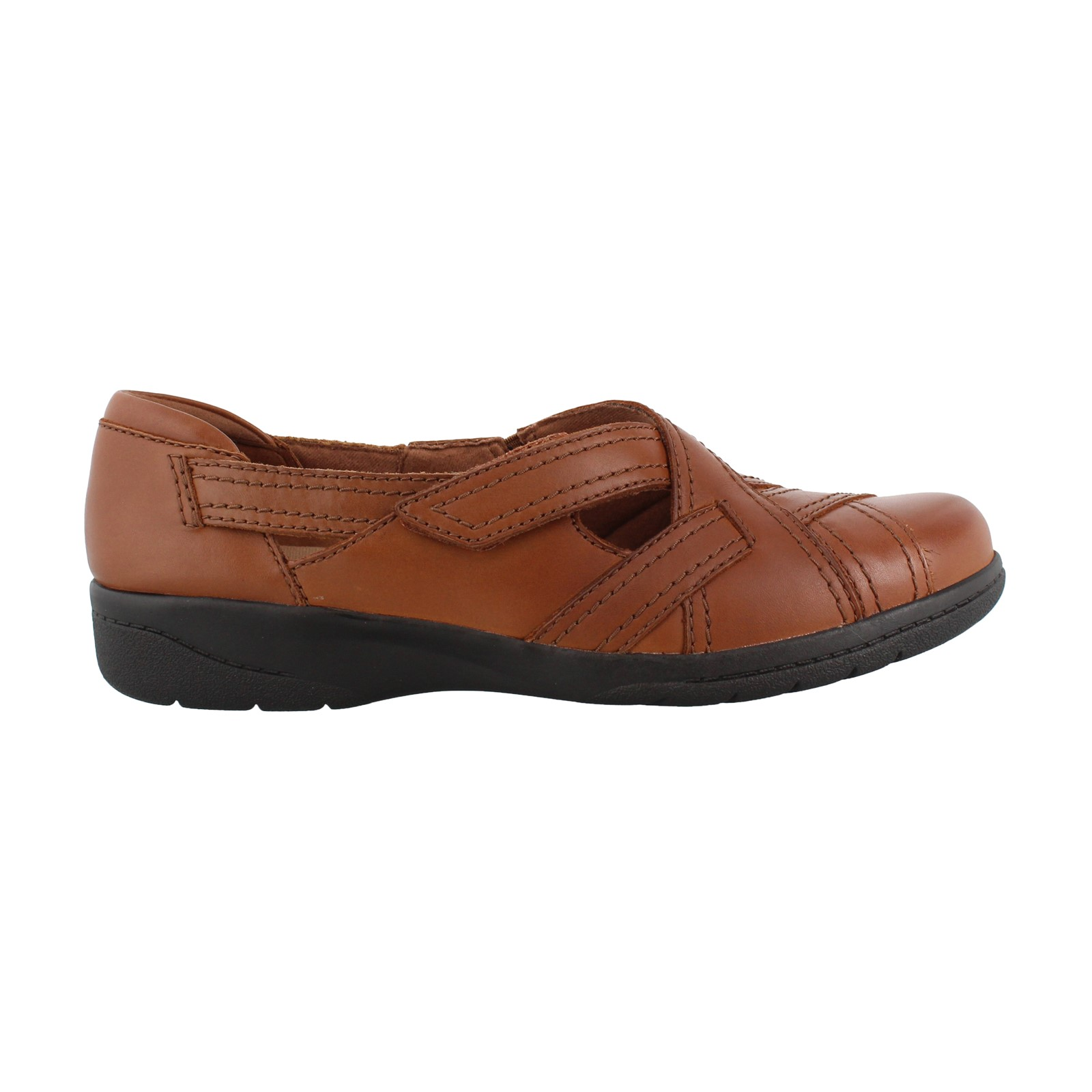 Women's Clarks, Cheyn Wale Slip on Shoes