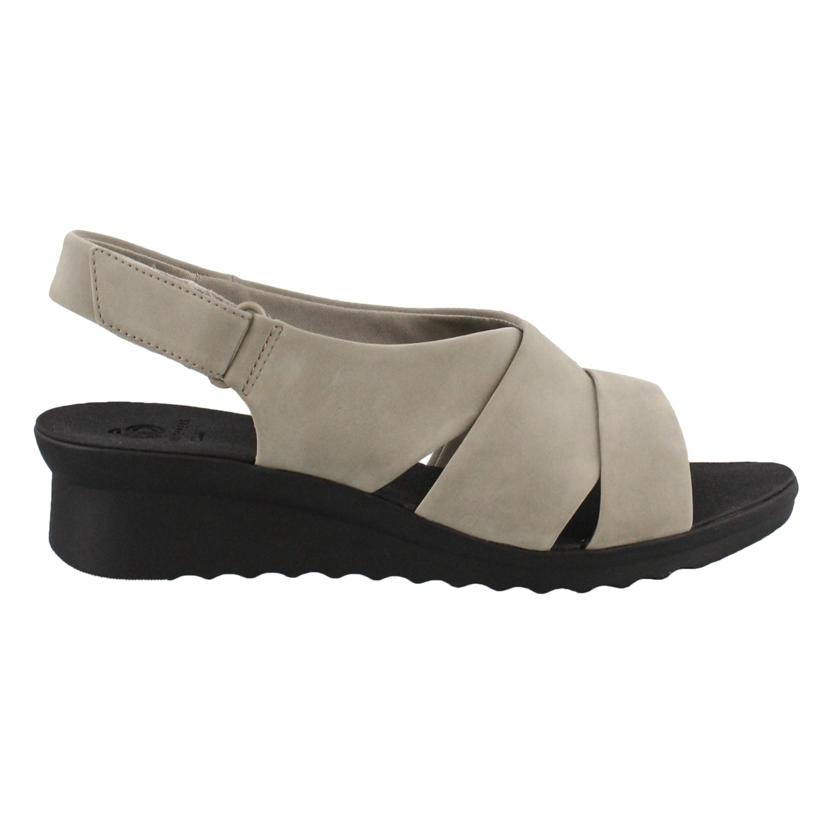 Women's Clarks, Cadell Petal Low Heel Wedge Sandals