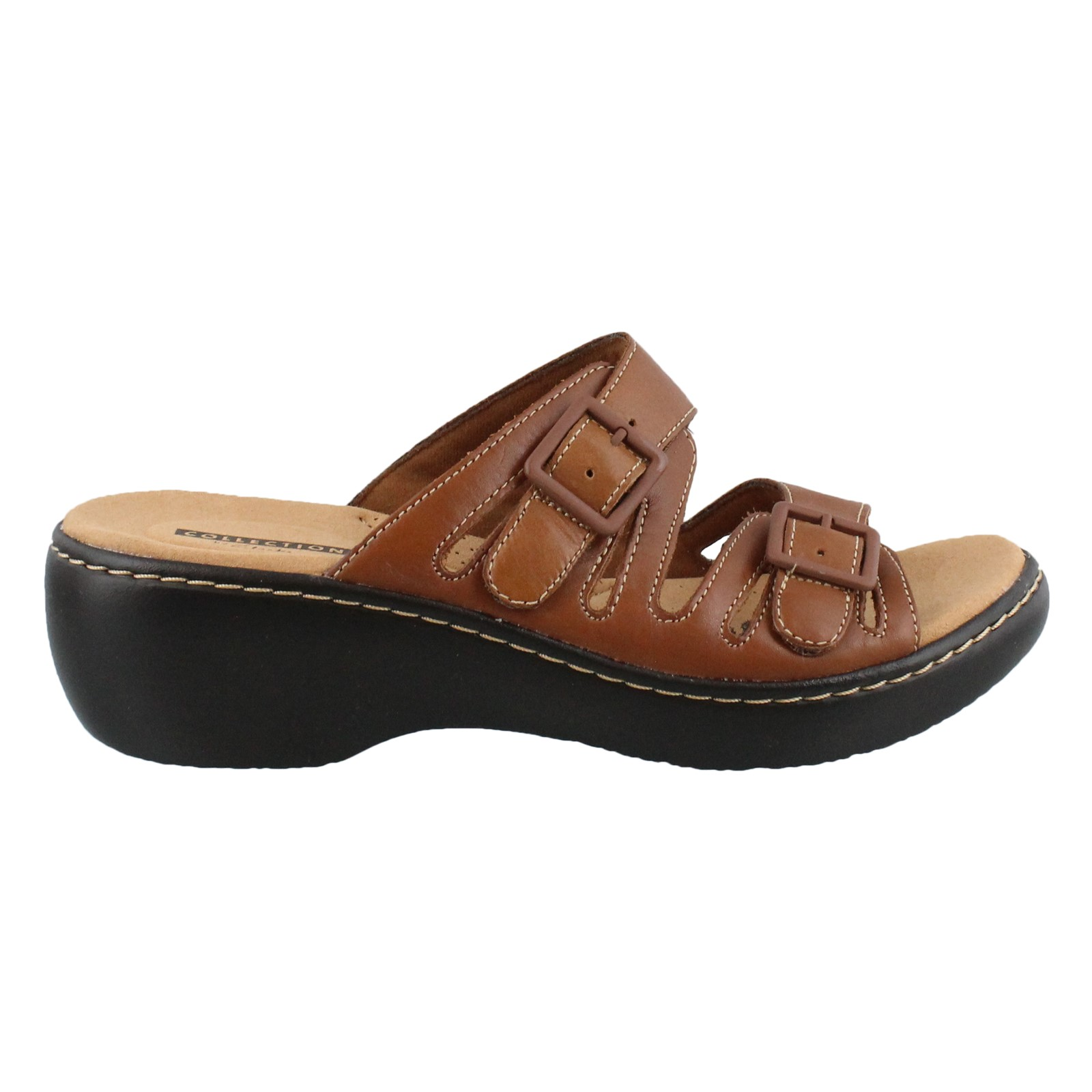 ce168be5992da Women's Clarks, Delana Liri Mid Heel Sandals | Peltz Shoes