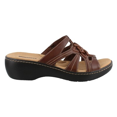 Women's Clarks, Delana Venna Slide on Sandals