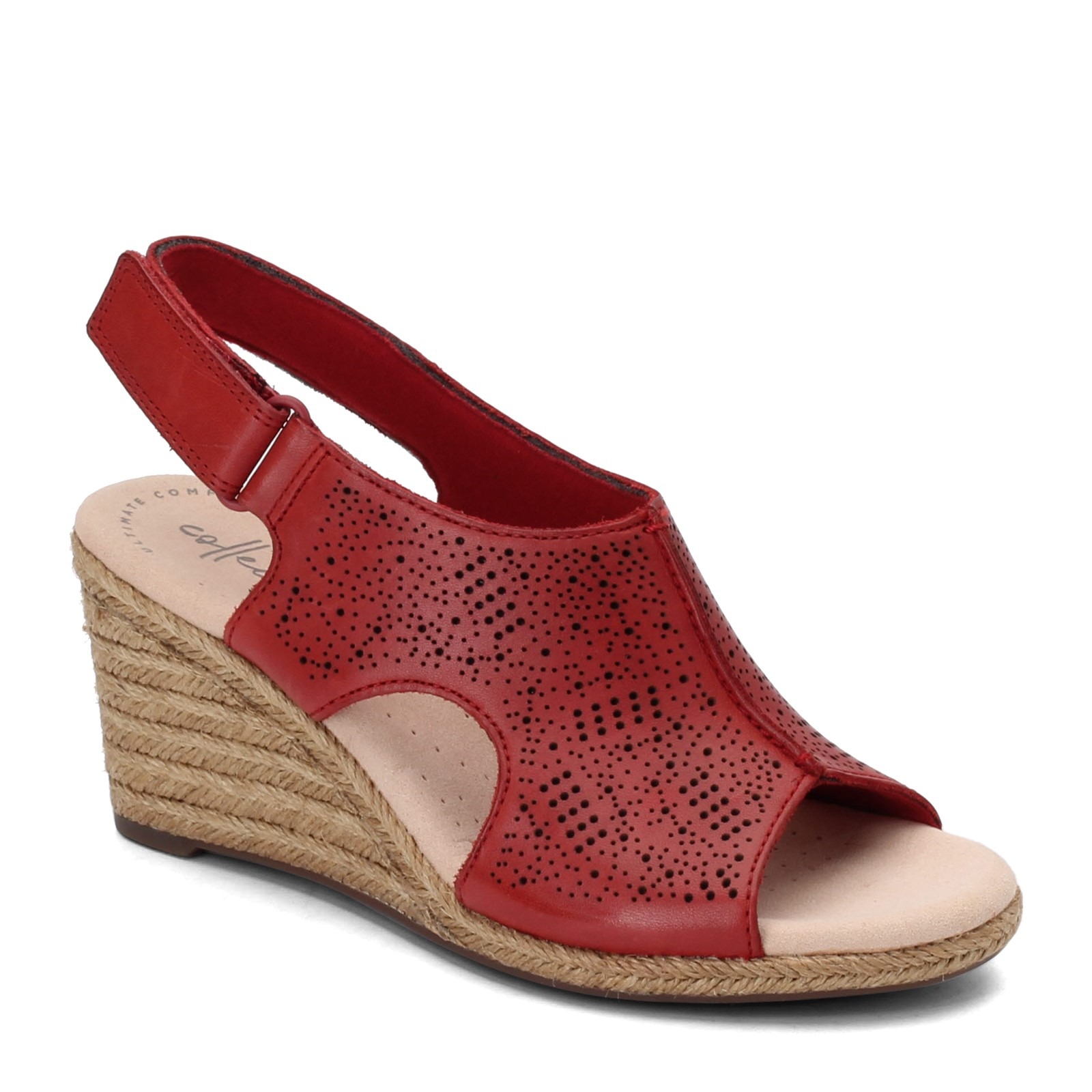 Women's Clarks, Lafley Rosen Wedge Sandals