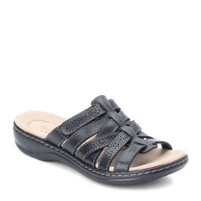 Women's Clarks, Leisa Field Slide Sandals