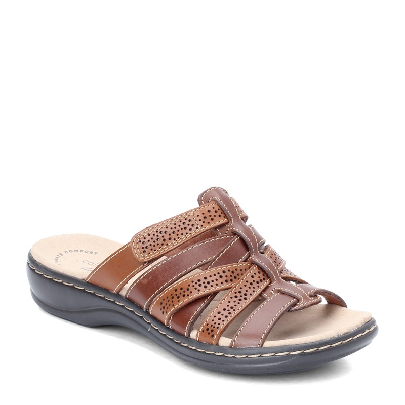 Clarks Leisa Field Slide Sandals Clothing Shoes Amp Jewelry