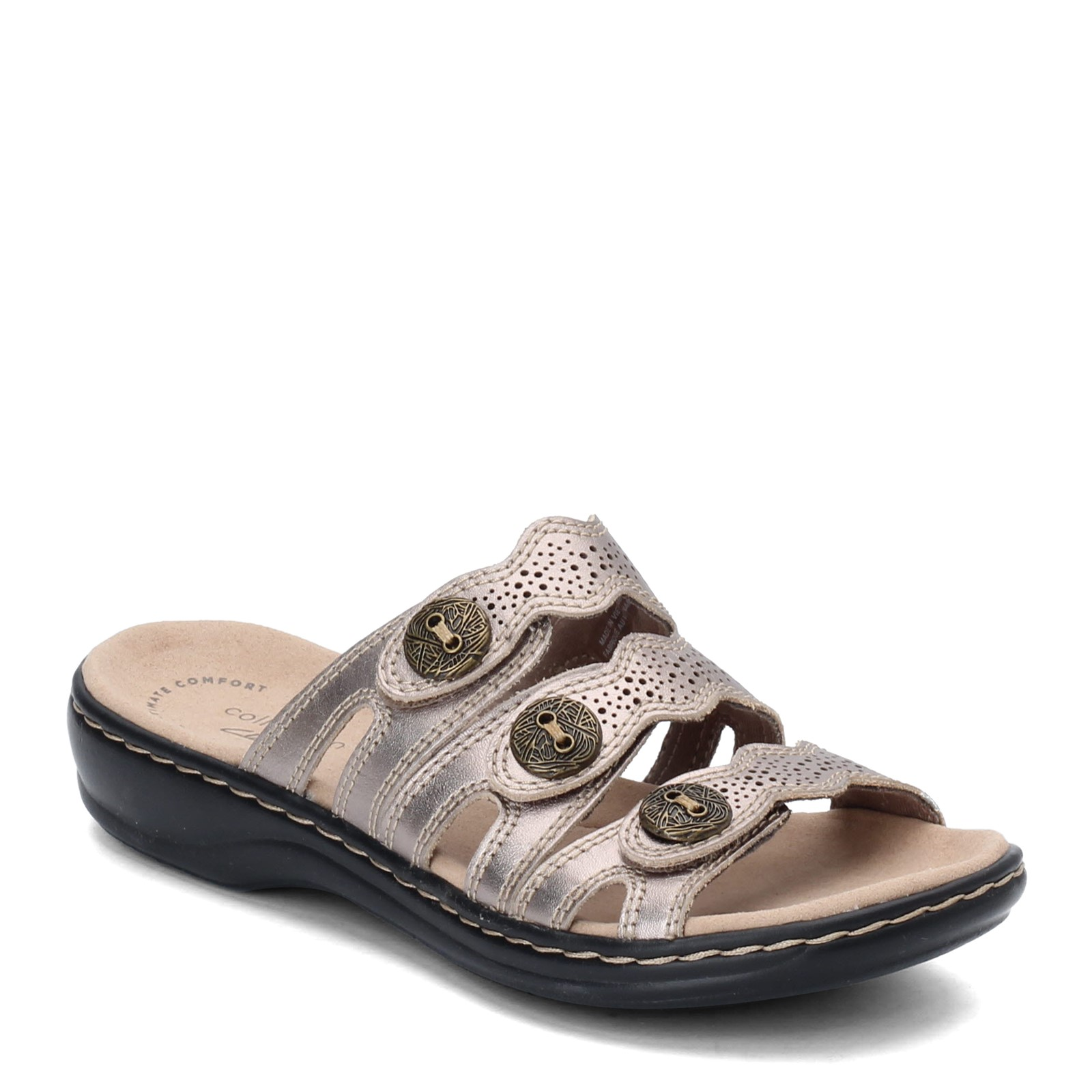 Women's Clarks, Leisa Grace Slide Sandals