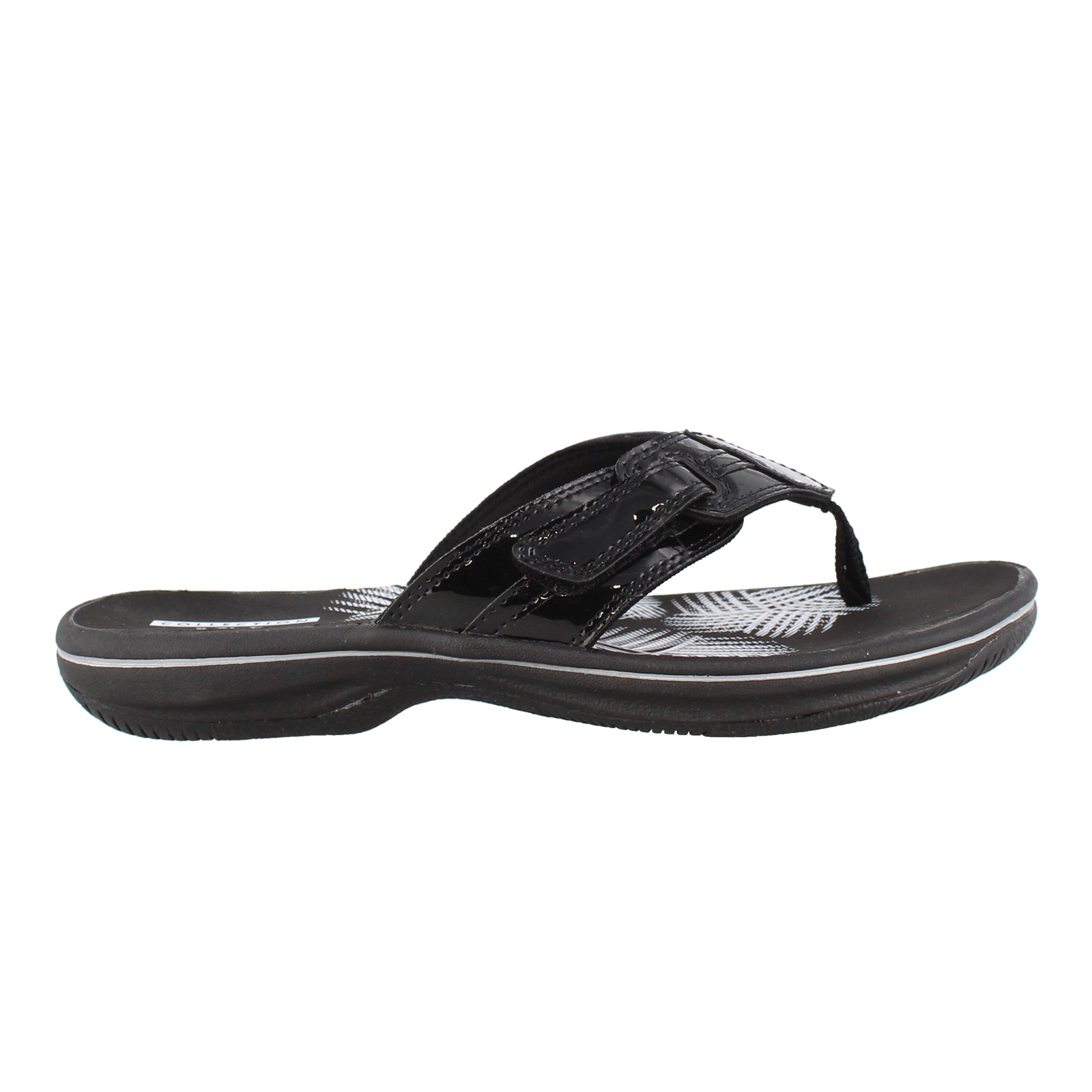 Women's Clarks, Brinkley Bree Thong Sandals