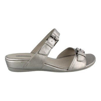 Women's Ecco, Touch 25 leather slide Sandals