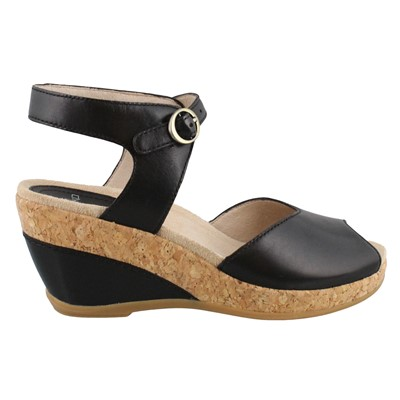 Women's Dansko, Charlotte High Heel Wedge Sandals