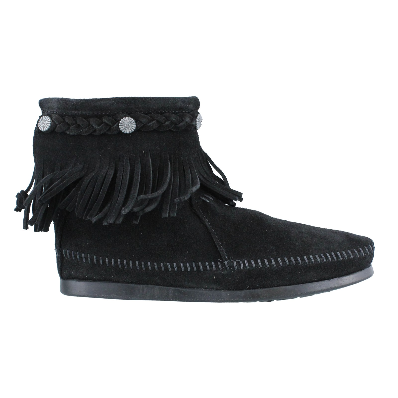 Women's Minnetonka Moccasins, Hi Top Back Zip Boot
